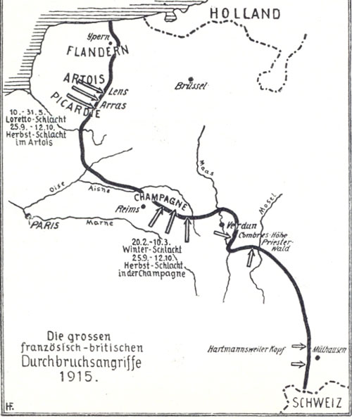 Westfront 1915